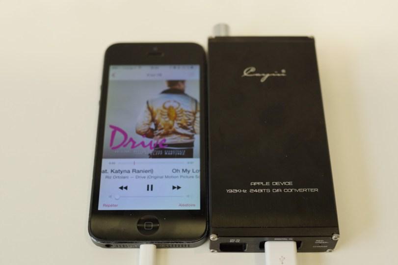 Cayin C6 + iPhone 5