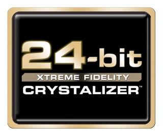 Le 24-Bit est utilisé depuis longtemps sur les cartes sons PC. Ici Creative