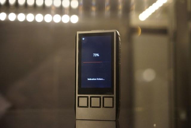 Le scan de fichiers est beaucoup plus rapide sur le iBasso DX80.