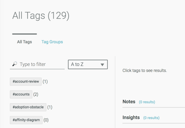 Organize your tags across multiple projects in one spot with Tag Groups in Aurelius