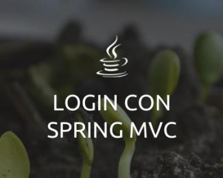 Login con Spring MVC