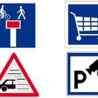 De nouveaux panneaux de signalisation et des vélos qui grillent les feux !