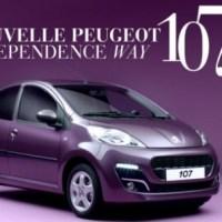 Pub TV Peugeot 107 : Opération Girly pour 2012