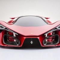 Ferrari F80 concept : 800kg et 1200 chevaux !
