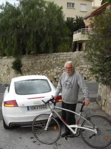Johnny Rives, le vélo et l'Audi TT S