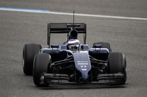 Formula One Testing, Jerez, Spain, Day One, Tuesday 28 January 2014.