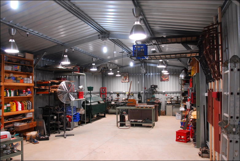 Home Welding Shop Layout