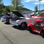 line up classic cars variety waynesville chevy 3rd disabled american veterans classic car show