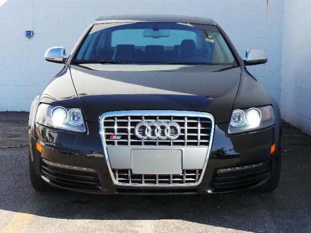 Black 2011 Audi S6