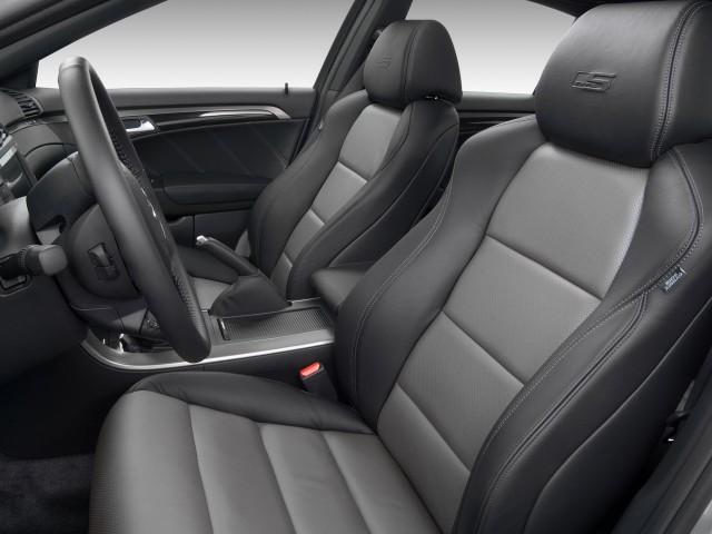 2008 Acura TL Type-S interior