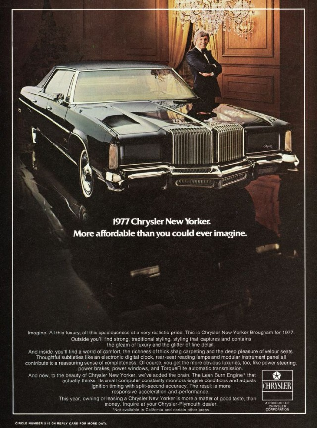 1977 Chrysler New Yorker ad