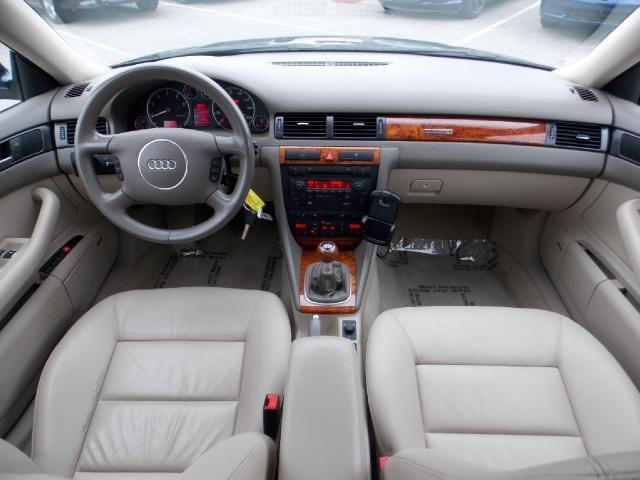 2004 Audi A6 interior