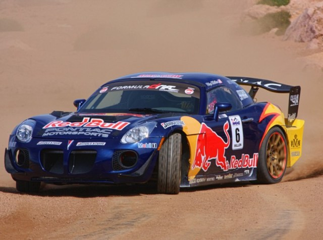 2007 Pontiac Solstice GXP Red Bull Drift Car