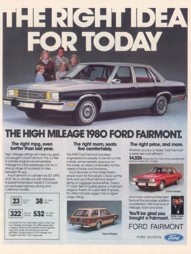 1980 Ford Fairmont Sedan