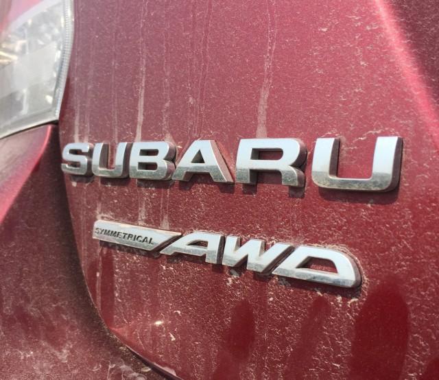 Subaru Impreza trunk badges
