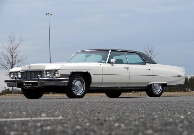 1973 Cadillac Calais sedan
