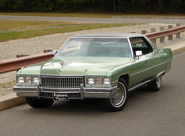 1973 Cadillac Calais hardtop sedan