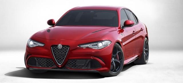 Alfa Romeo Guilia Quadrifoglio Verde