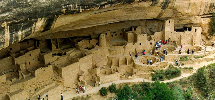 cliff dwellings of anasazi, picture of the cliff dwellings of anasazi in colorado