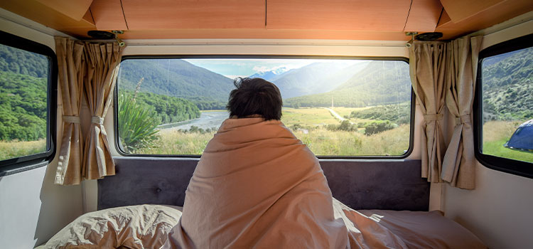 Tips to Sleep Better When You Are In Your RV