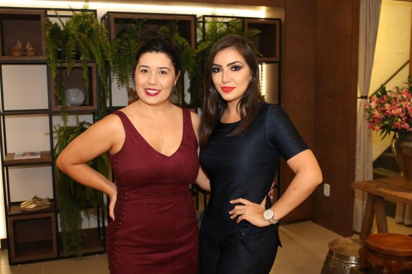 Renata Andrade e Vanessa Vasconcelos