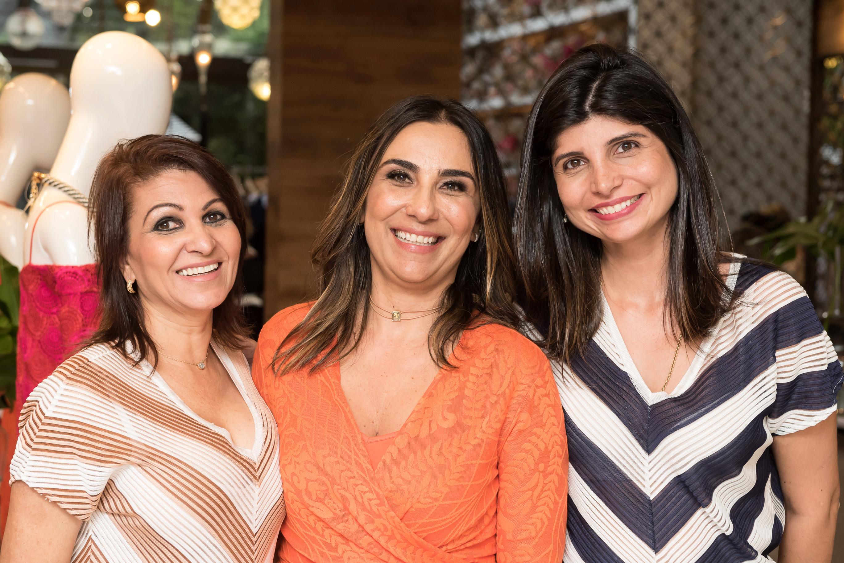 Celma Fonseca, Daniella  Naegelle e Renata Cotrim