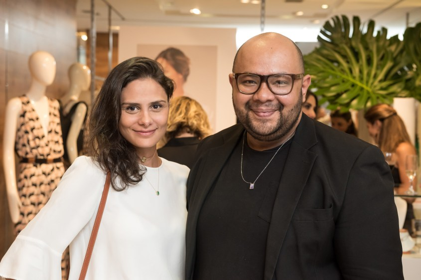 Raquel Jones e  Fernando Lackman