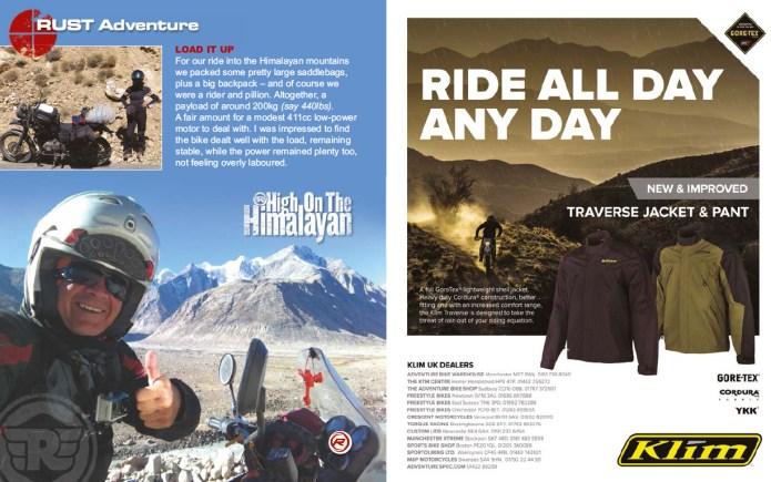 Aventura en India con la Himalayan