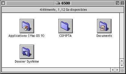 Présentation du Macintosh par boutons