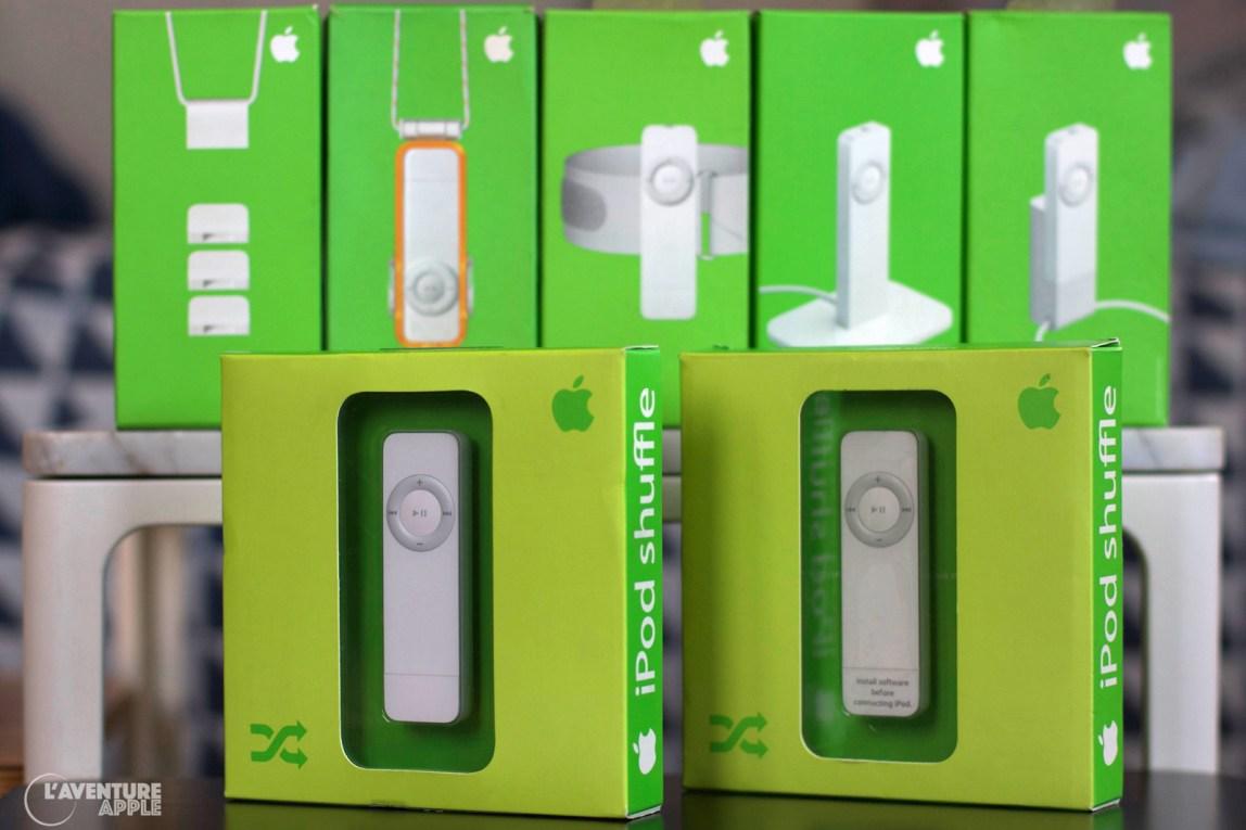 La famille iPod Shuffle 1G