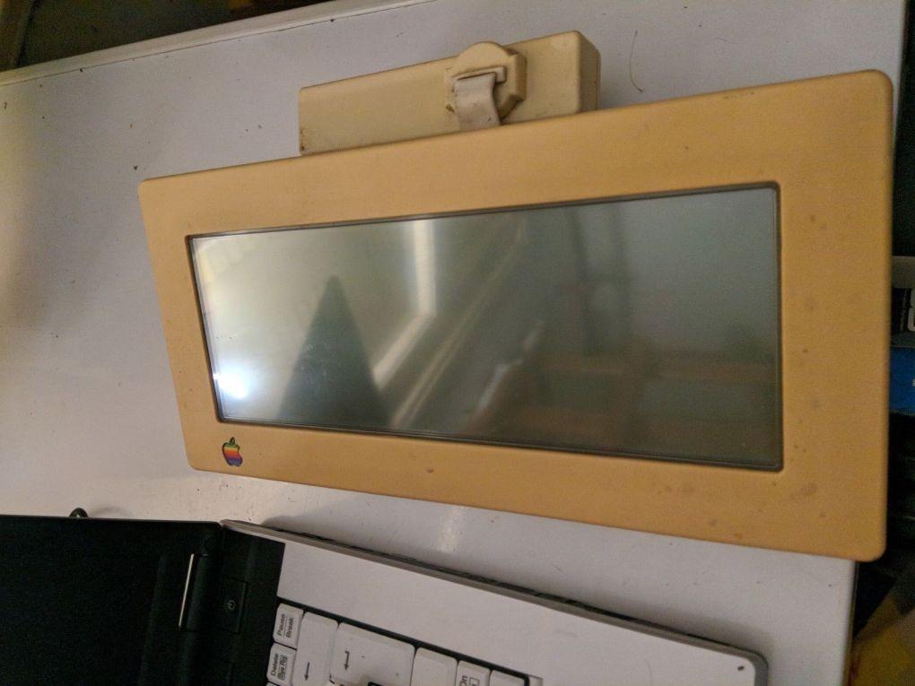 Apple IIc LCD Display