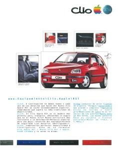 Nouvelle Renault Clio Apple - JASP - Nuevo Clio Apple