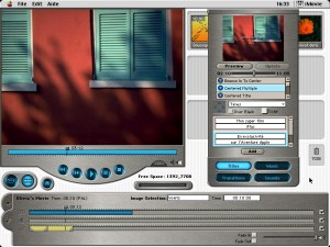 iMovie 1.0 en 1999