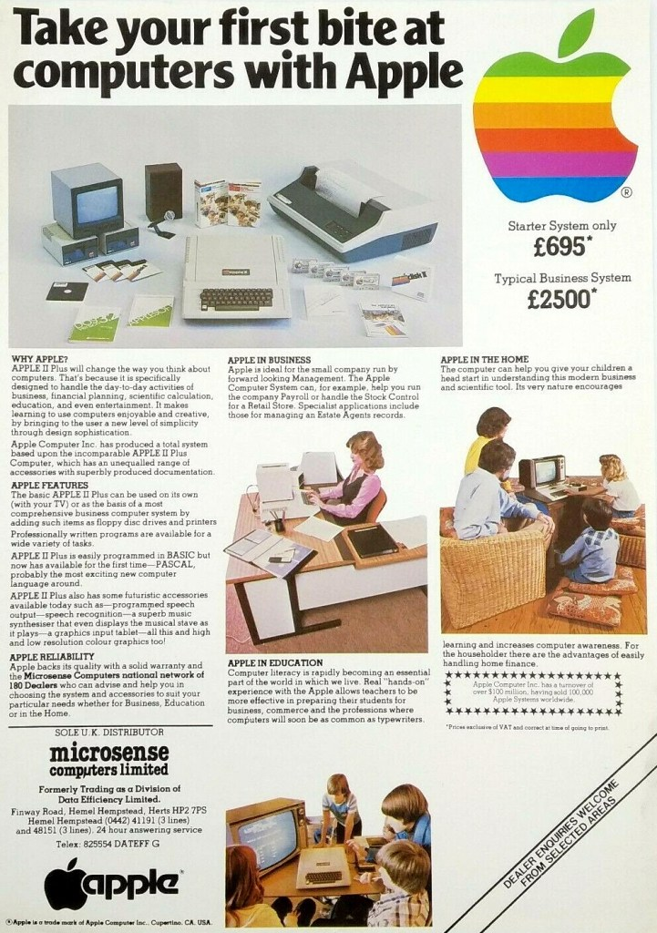 Apple 1980 ad first bite