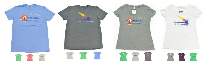 Check out our new Colorado fly fishing AvidMax Tee's