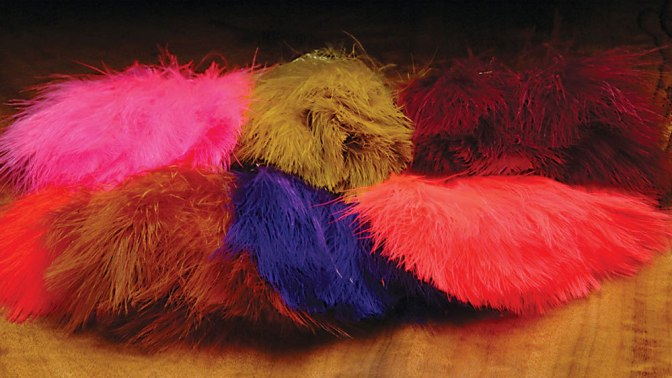 Hareline Marabou Strung Blood Quills product review