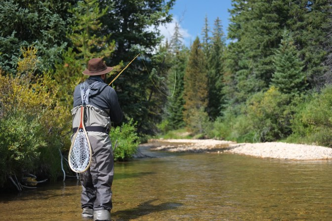 Slow Down With Fiberglass Fly Rods