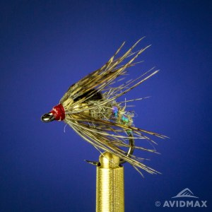 Learn to tie the Holy Grail Caddis Emerger fly tying video