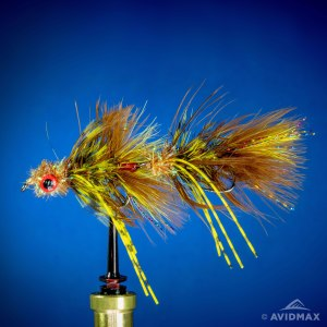 Learn how to the the Circus Peanut fly - Fly tying video tutorial