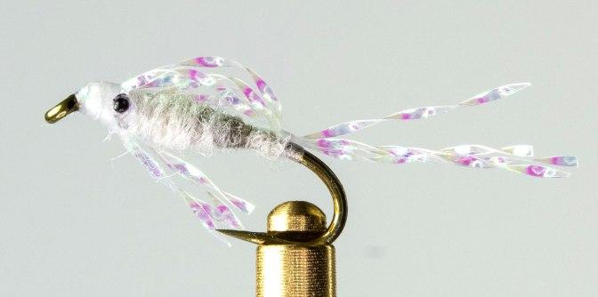 Learn how to tie the Mysis Crystal Shrimp