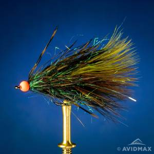 Learn how to tie the Peacock's Eye Ice Dub Thin Mint