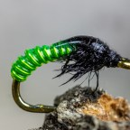How to tie the Electric Caddis