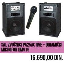 Karaoke komplet Zvučnici + Mikrofon