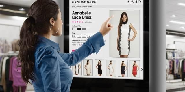 digitalne reklame osetljive na dodir