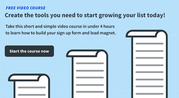 email list growth course