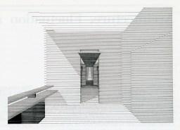 Fluctuation drawings at Tokyo Memorial Park. Takefumi Aida. Japan Architect Feb 1989, 17