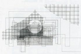 Fluctuation drawings at Tokyo Memorial Park. Takefumi Aida. Japan Architect Feb 1989, 28