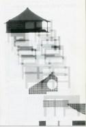 Fluctuation drawings at Tokyo Memorial Park. Takefumi Aida. Japan Architect. Feb 1989,29
