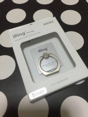 BUNKER RINGとiRingなら、iRingがお勧めです。