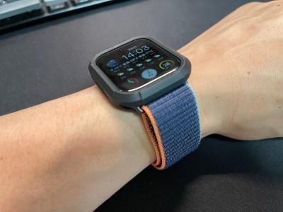 Apple watchに安いスポーツループバンドを付けてみた